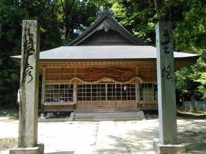 9014 御三戸神社① 佐藤 豊宮司