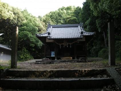 7018 岡八幡神社① 岡山正文宮司