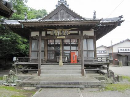 2039 楢本神社① 石川雅司郎宮司