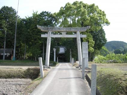 7017 客八幡神社① 岡山正文