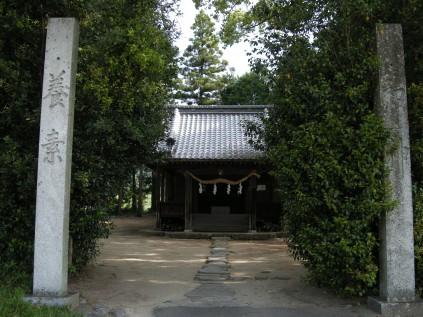 7017 客八幡神社② 岡山正文