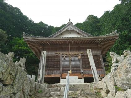 12038 三嶋神社 宇和町田野中450