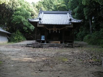7018 岡八幡神社② 岡山正文宮司