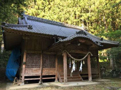 13091河内神社
