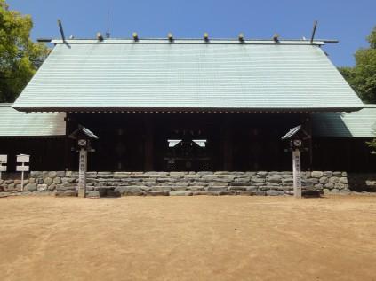 6136 東雲神社① 田内逸知宮司